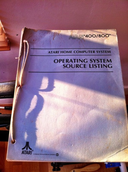 Atari 8 bit operating system source code